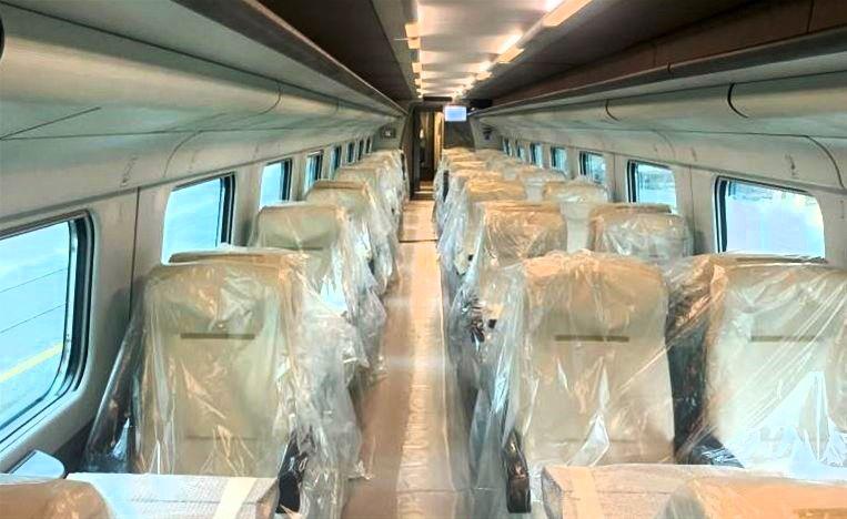 Έφτασε στη Θεσσαλονίκη το πρώτο ιταλικό τρένο υψηλών ταχυτήτων της ΤΡΑΙΝΟΣΕ  - Ypodomes.com