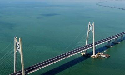 Κίνα γέφυρα Hong Kong