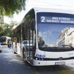 Κώστας Καραμανλής ηλεκτρικό λεωφορείο 4