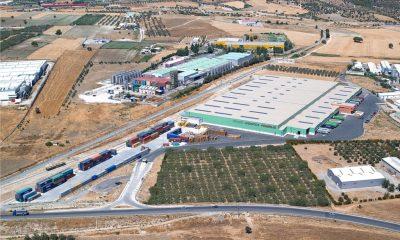 εγκαταστάσεις logistics Ομίλου Φουρλή Οινόφυτα TRADE LOGISTICS