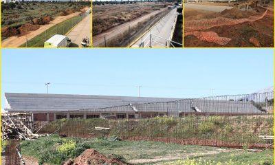 Η πρόοδος των έργων στο νέο γήπεδο της ΑΕΚ στο προπονητικό της κέντρο στα Σπάτα - Πηγή: AEK FC