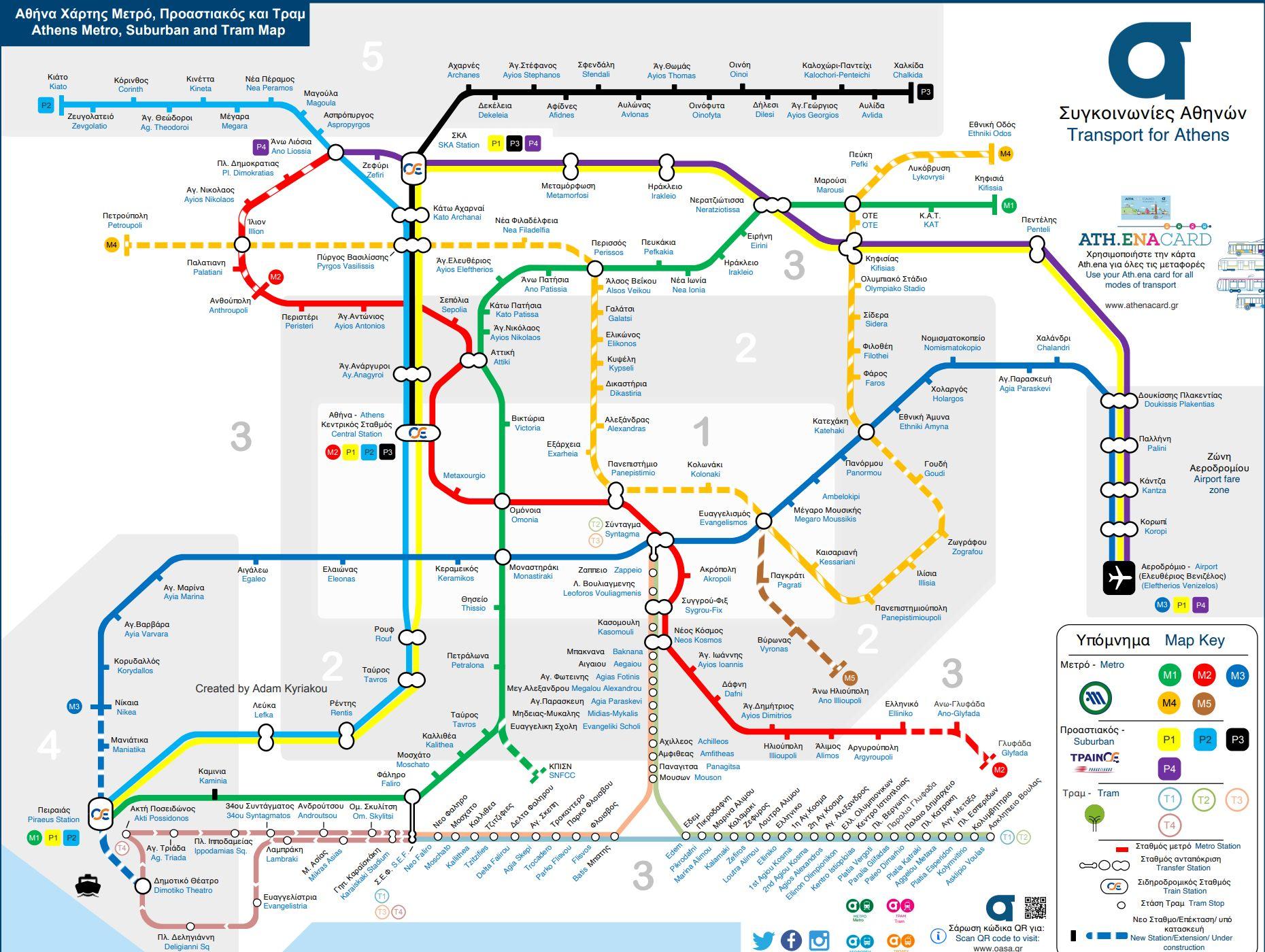 δίκτυο μετρό