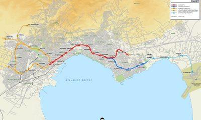 Χάρτης Μετρό Θεσσαλονίκης