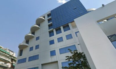 Το κτίριο της ΕΕΔΕ στα Κάτω Πατήσια που αγόρασε η Dimand