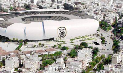 Πρόταση για το νέο γήπεδο του ΠΑΟΚ στην Τούμπα - Πηγή: A & S Architects