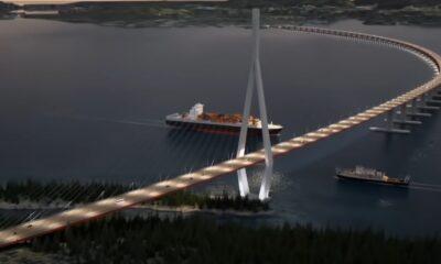 Νορβηγία Κρουαζιερόπλοια τούνελ