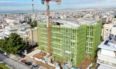 Το νέο κτίριο πολυτελών κατοικιών που κατασκευάζει η Ten Brinke στη Γλυφάδα - Φωτό: Ten Brinke