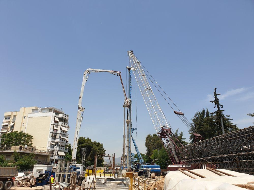 Τα έργα στη Σιδηροδρομική Σήραγγα Σεπολίων - Πηγή: Ypodomes.com