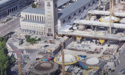 Το σιδηροδρομικό project Stuttgart 21 στη Γερμανία-Πηγή: YouTube Channel The B1M