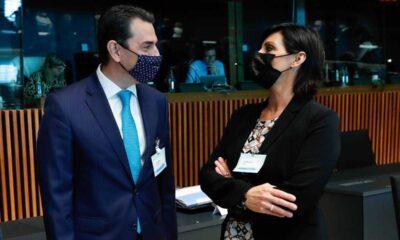 Ο Κ. Σκρέκας με την Teresa Ribera-Copyright: European Union