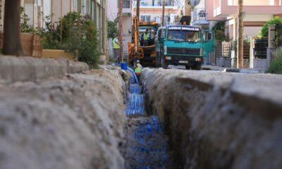 Έργα αντικατάστασης αγωγών στη Λάρισα-Πηγή: Δήμος Λαρισαίων