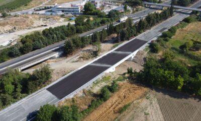 Η γέφυρα στο ρέμα Γερακάρη-Πηγή: Αυτοκινητόδρομος Αιγαίου