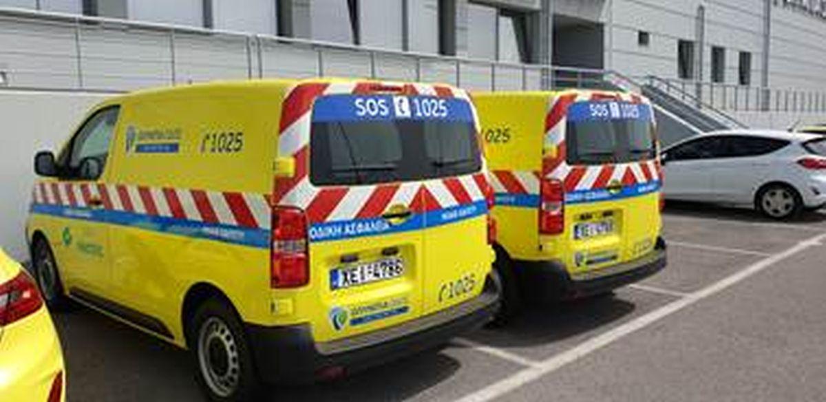 Δύο ηλεκτροκίνητα αυτοκίνητα αποκτά η Ολυμπία Οδός-Πηγή: Ολυμπία Οδός