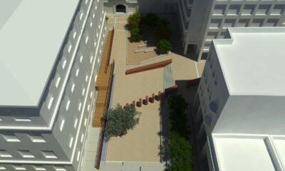 Η ανάπλαση της Πλατείας Θεάτρου-Πηγή: Δήμος Αθηναίων