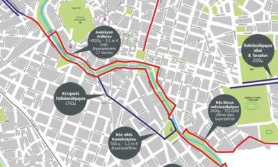 Το νέο δίκτυο ποδηλατόδρομων στα Τρίκαλα-Πηγή: Δήμος Τρικκαίων