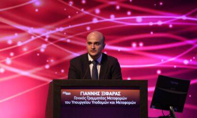 Ο Γενικός Γραμματέας Μεταφορών, στο Υπουργείο Υποδομών και Μεταφορών, Γ. Ξιφαράς, στο 4ο Συνέδριο Υποδομών και Μεταφορών ITC 2021