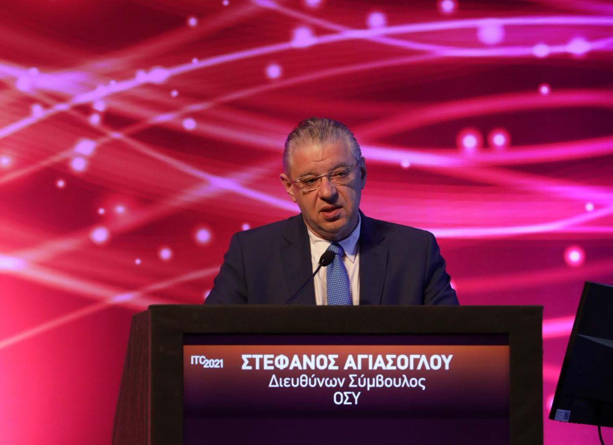Ο Σ. Αγιάσογλου στο ITC 2021-Πηγή: ITC 2021