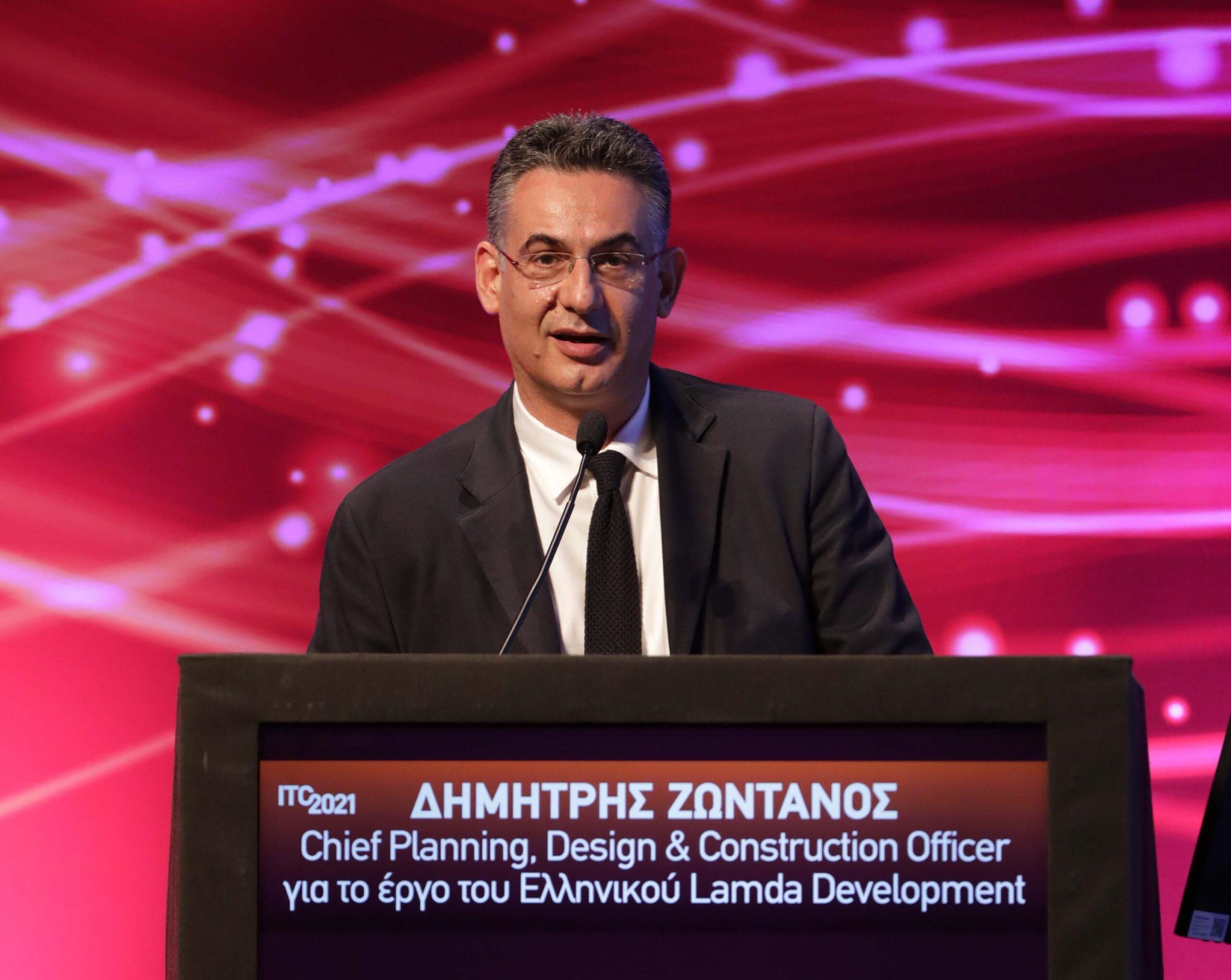 Ο Chief Planning, Design & Construction Officer για το Ελληνικό, στη Lamda Development, στο 4ο Συνέδριο Υποδομών και Μεταφορών ITC 2021Ο Chief Planning, Design & Construction Officer για το Ελληνικό, στη Lamda Development, στο 4ο Συνέδριο Υποδομών και Μεταφορών ITC 2021