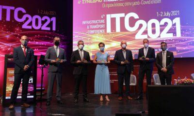 Η βράβευση της Ηλεκτρικής Διασύνδεσης Κρήτης - Πελοποννήσου ως Έργο της Χρονιάς 2020 στο συνέδριο ITC 2021