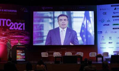Ο Αντιπρόεδρος της Κομισιόν, Μ. Σχοινάς, στο ITC 2021 - 4o Συνέδριο Υποδομών & Μεταφορών