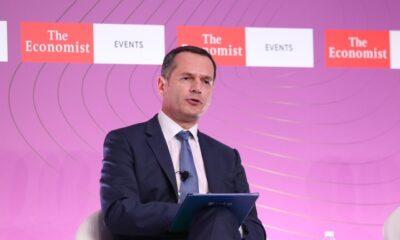 Ο Μ. Μανουσάκης στο Συνέδριο του Economist-Πηγή: ΑΔΜΗΕ
