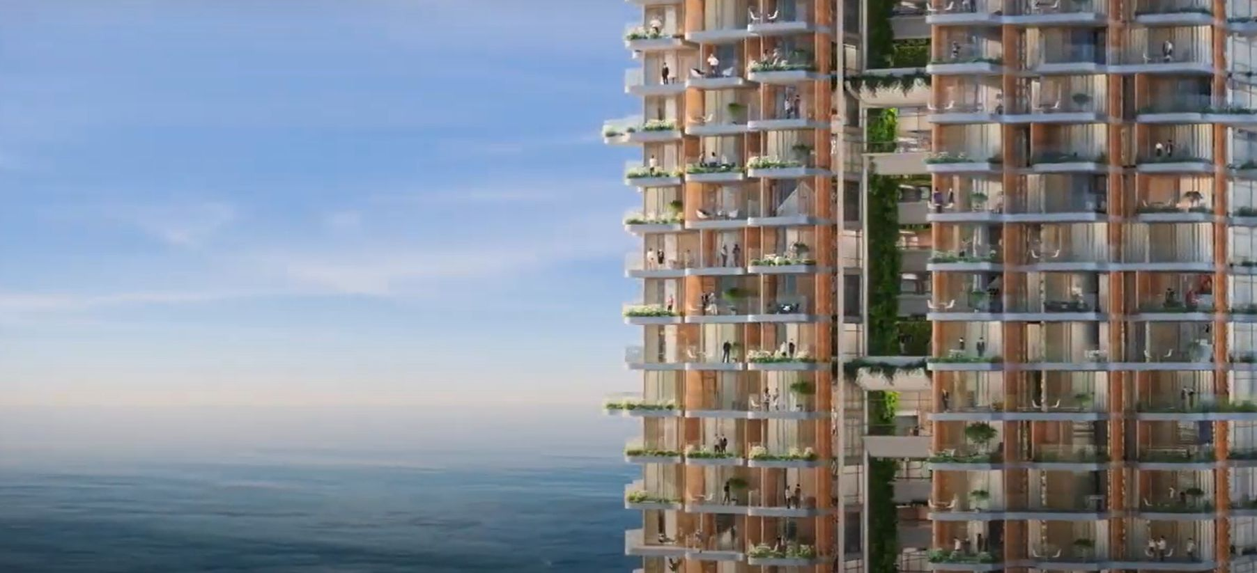 Ο οικιστικός πύργος Marina Tower στο Ελληνικό – Πηγή: Lamda Development