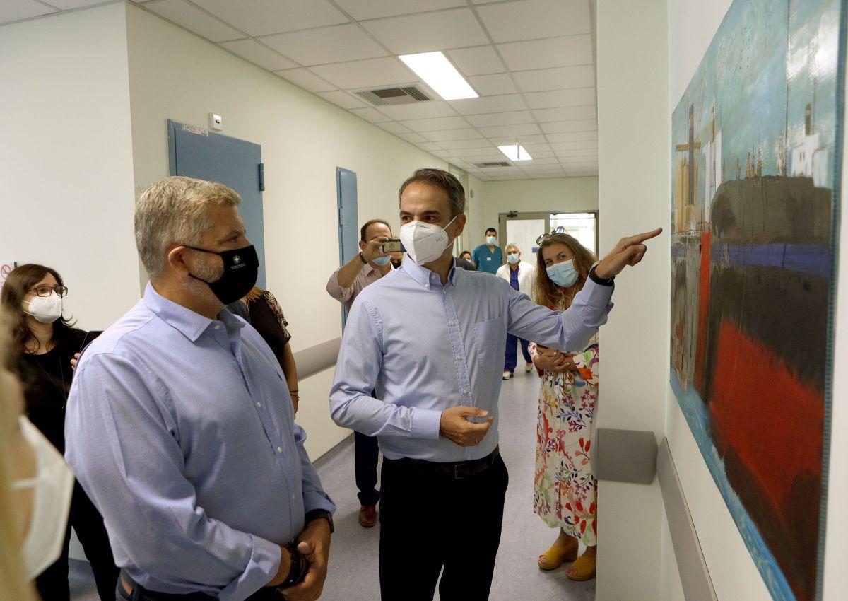 Ο Κ. Μητσοτάκης στα εγκαίνια του Κέντρου Υγείας στο Κερατσίνι-Πηγή: Περιφέρεια Αττικής