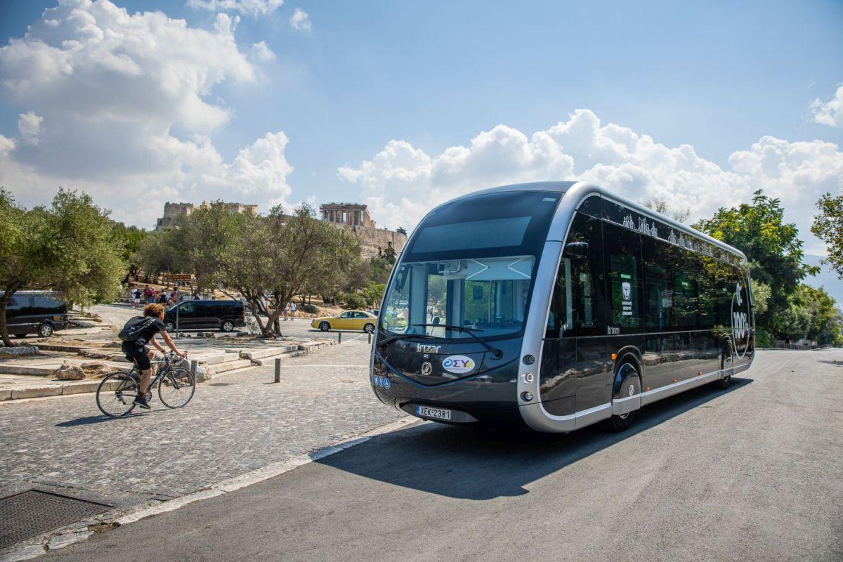 Το νέο ηλεκτρικό λεωφορείο-τραμ Irizar ie tram-Πηγή: Όμιλος Σαρακάκη