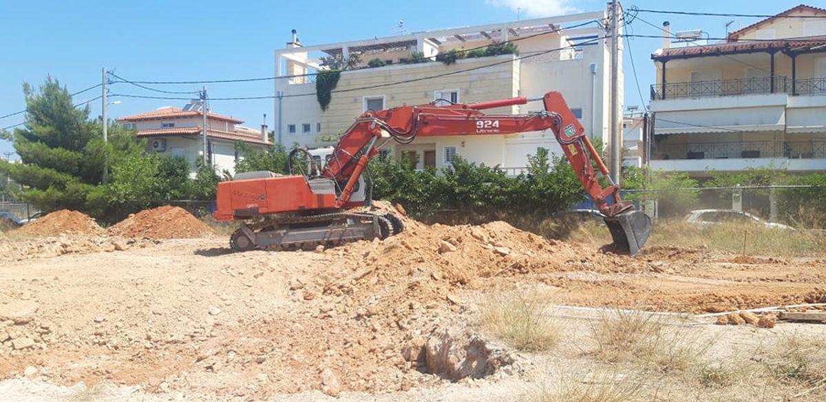 Ξεκινά η κατασκευή αθλητικού κέντρου στο Πάτημα-Πηγή: Δήμος Χαλανδρίου