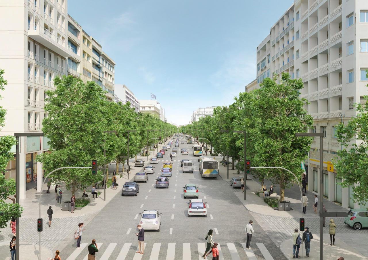 Αλλάζει η οδός Πανεπιστημίου στην Αθήνα– Πώς θα μεταμορφωθεί με τη νέα ανάπλαση (photos)